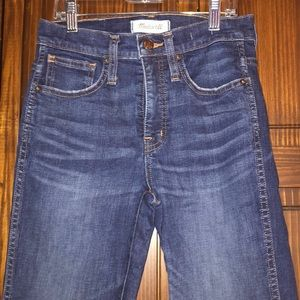 Madewell slim straight 24